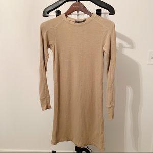 Polo Ralph Lauren - XS - Brown Long Sleeve Dress
